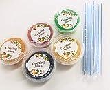 コーティングジュース5種類×1個 (タピオカストロー5本付き)