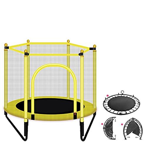 XuZeLii Trampolín Al Aire Libre Interior Redondo Mini trampolín niños niños Jugando Camas de Salto Caja de Ejercicio Pad Trampolines Adecuado para Entrenamientos De Estudio