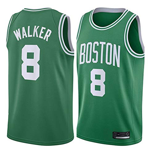 Herren Basketball Weste Jerseys Boston Celtics 8# Walker Jersey Atmungsaktiv Mesh Basketball Swingman Stickerei Trikots