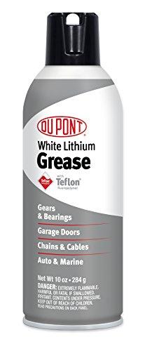 DuPont Teflon White Lithium Grease Aerosol Spray, 10 Oz.