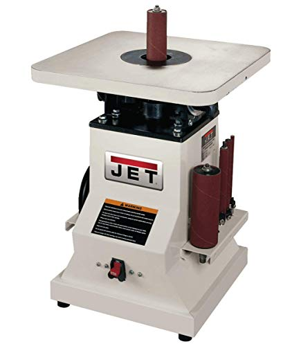 JET JBOS-5 Benchtop Oscillating Spindle Sander, 1/2 HP, 1PH 115V (708404)