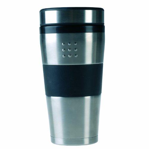 Berghoff 1100187 Vaso térmico 0.50 L, color negro y acero i