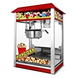 Lecon Commercial Popcorn Machine Maker Popper with 8 oz. Ounce For Theater Bar