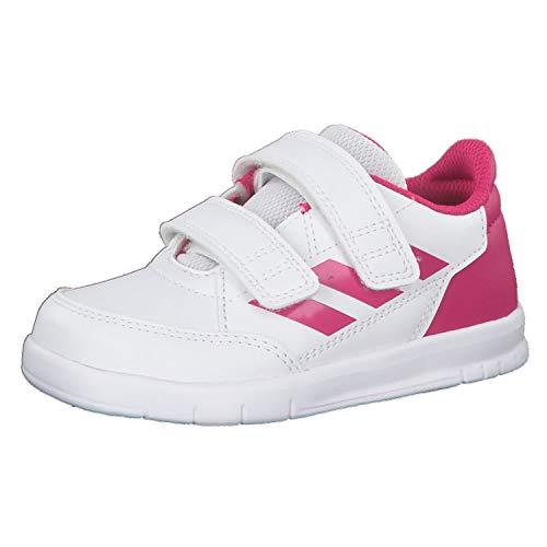 adidas Altasport CF I,  Zapatillas de Gimnasia Unisex niños,  Blanco (FTWR White/Real Magenta/Real Magenta FTWR White/Real Magenta/Real Magenta),  21 EU