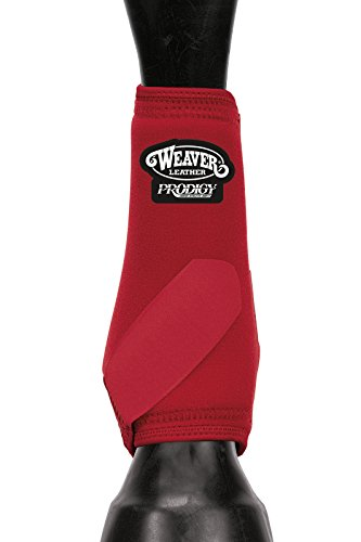 Weaver Leather Prodigy Athletic Boots Red, Medium