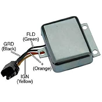 1975-1986 D7NN10316B New Voltage Regulator 12 Volts for Ford New Holland Tractors