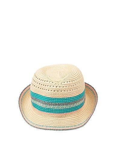 CHILLOUTS Damen Cardiff Hut, 85 Natural/Aqua, einheitsgröße