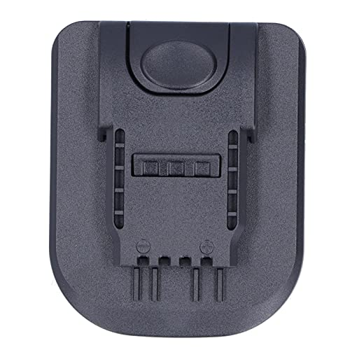 Eujgoov Cargador de Batería, Soporte de Base de Batería de Litio, Adaptador Convertidor de Batería de 20 V, Conector de Montaje de Alimentación de Batería para WORX 2