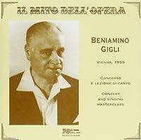 Concert & Singing Masterclass*Vienna 1955/L'elisir