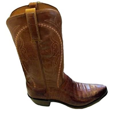 a6aee4d6c10 Lucchese Men's 1883 N9494.54 Ultra Belly Caiman Tail Buy Online ...
