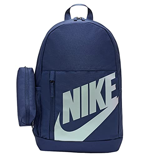 NIKE BA6030 Elemental Sports backpack unisex-child midnight navy/midnight navy/iridescent 1SIZE