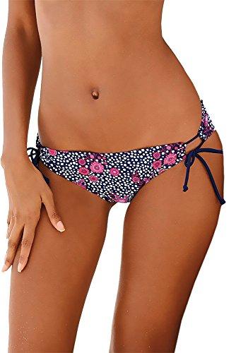 Lascana Bikini-Unterteil Mix-Kini marine-mehrfarbig Größe 36