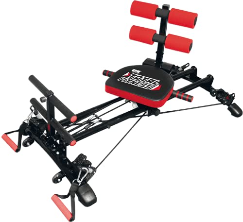 GYMFORM Best Direct Total Fitness Rower with Dvd Macchina Fitness per Uomo Donna Mettiti in Forma in 21 Giorni