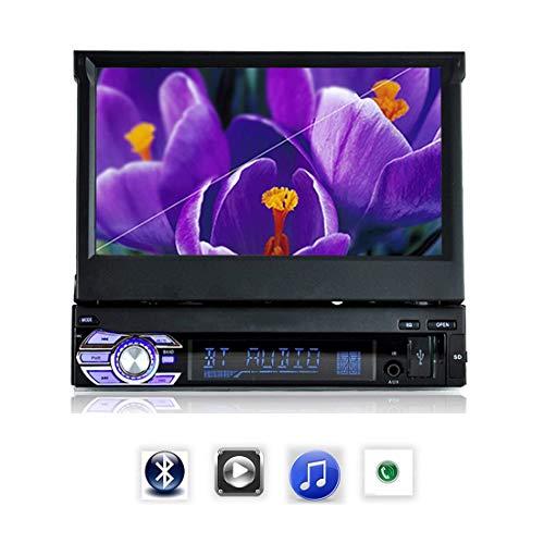 Autoradio Bluetooth MP5 Autoradio Audio Auto Stereo FM Bluetooth 1 DIN 7 Pollici Touch Screen Mirror Link Autoradio Lettore di Cassette 9601