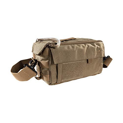 Tasmanian Tiger Small Medic Pack Mk II, Tactical Small MOLLE Medical Bag, First Aid Storage, YKK Zippers, Coyote