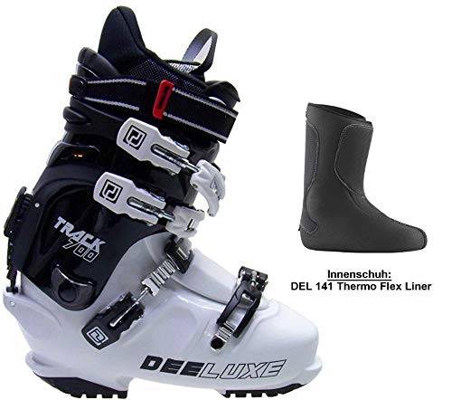 Deeluxe Track 700 White Palau/Del141 Thermo Innenschuh SNOWBOARDSCHUH HARDBOOT (26.0)