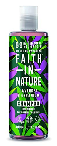 Faith in Nature Natural Lavender and Geranium Shampoo, 400ml