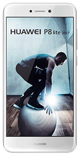 Smartphone Huawei P8Lite 2017, memoria interna de 16GB, blanco