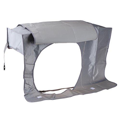 Outdoor Klimaanlage Abdeckung Cover Anti-Staub Wasserdicht Reinigung Schutz - #4 Dunkel Grau