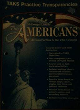 Film The Americans Reconstruction to the 21st Century Daily Test Prep Transparencies Grades 9-12 Book