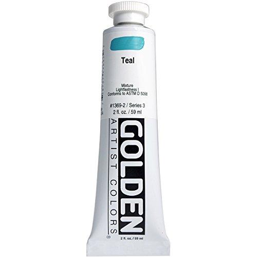 Pro-Art Golden Pintura acrílica para el Cuerpo 2oz -Teal