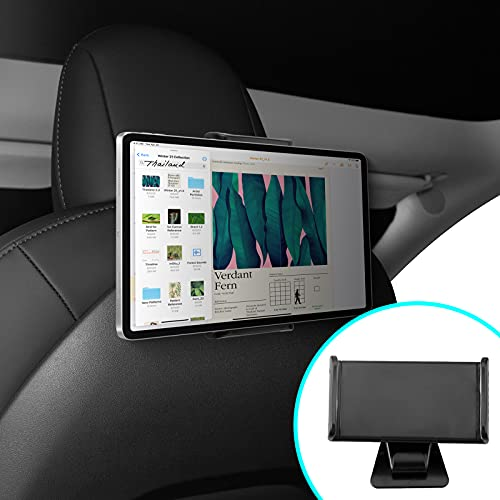 Tesla Model 3 Tablette Montieren Halter 360 °Drehung Halter kompatibel mit IPad Pro & Smartphone (Nicht geeignet für 12,9-Zoll-Ipad Pro)