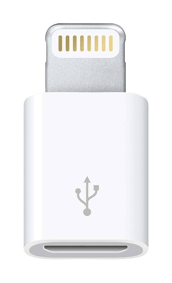 タブレット作曲する平凡Apple Lightning - Micro USBアダプタ