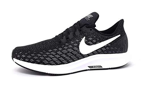 Nike Wmns Air Zoom Pegasus 35, Zapatillas de Running Unisex Adulto, Negro (Black/White-Gunsmoke-Oil Grey 001), 38 EU