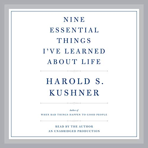 Nine Essential Things I've Learned About Life audiobook cover art