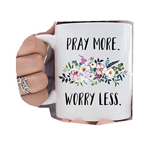 Christliche Kaffeetasse mit Aufschrift