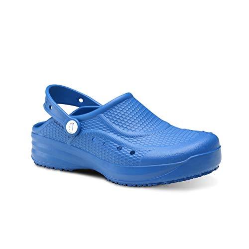 Feliz Caminar - Zueco Sanitaro Flotantes Evolution Azul Eléctrico, 39