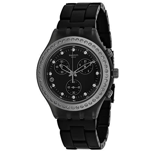 Swatch SVCM4009AG - Reloj para Hombres, Correa de Aluminio