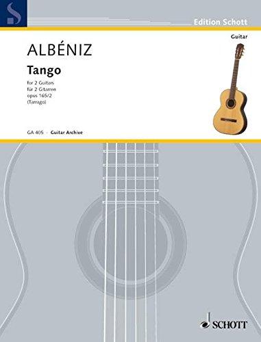 Tango D-Dur: op. 165/2. 2 Gitarren. (Edition Schott)