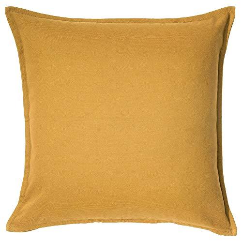 "IKEA Kissenhülle ""Gurli"" 203.958.21, goldgelb, Größe 50,8 x 50,8 cm"