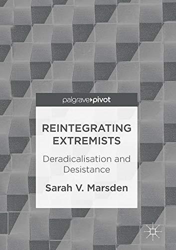 Reintegrating Extremists: Deradicalisation and Desistance