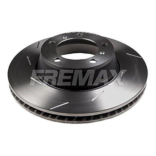 Fremax BD-3386 Bremsscheibe HC, Hinten Links, geschlitzt, (Dieser Artikel enthält 1 Bremsscheibe: für die linke Hinterachse)