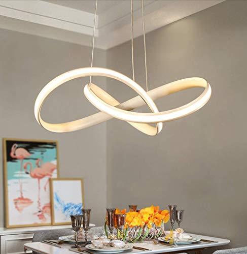 LightInTheBox Lámpara de araña LED regulable con mando a distancia para comedor, sala de estar 3040LM