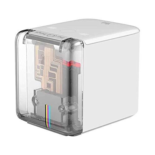 Mbrush Stampante Colori Portatile, Mini Bluetooth WiFi Stampa Wireless Piccola Inkjet Portatile con Cartuccia d'inchiostro per Testo Personalizzato e Fai Da Te, Stampa Qualsiasi Superficie