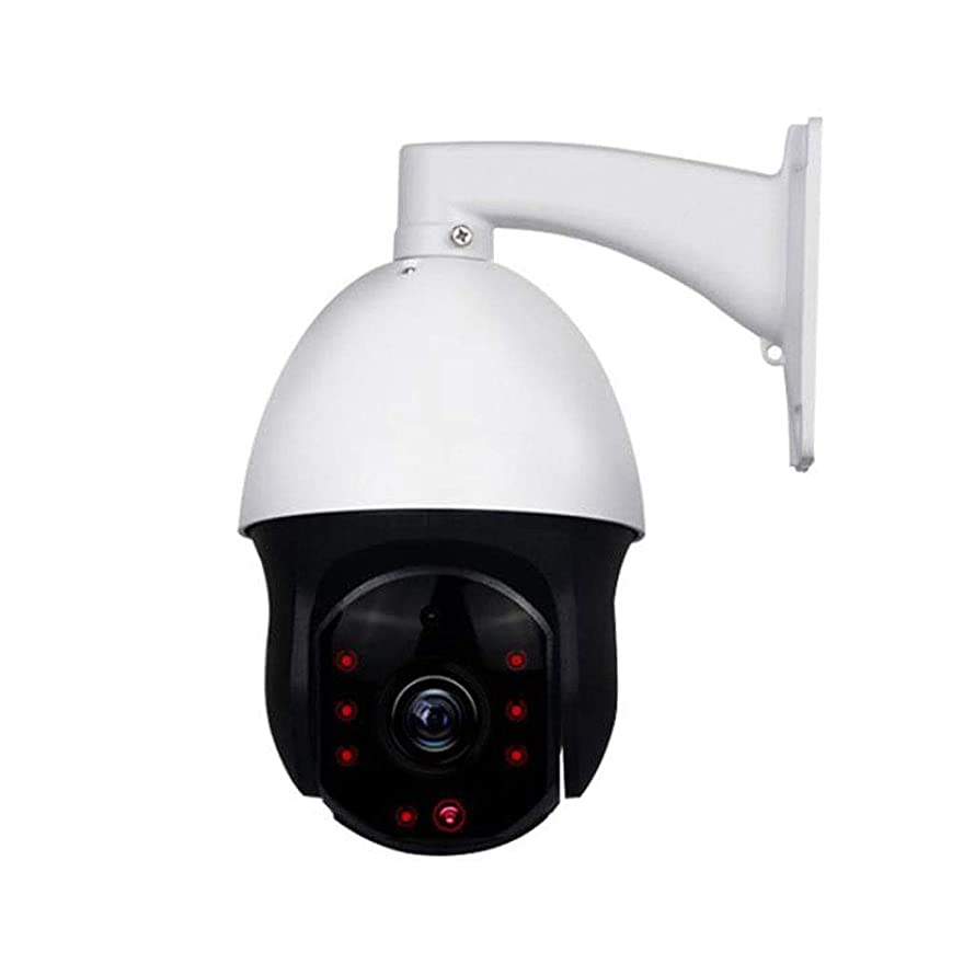L-San 960p HD Camera Outdoor Wireless IP Security Monitoring System with Remote Monitor Two-Way Voice Night Vision Suitable for Home Office Monitor Wide-Angle Zoom