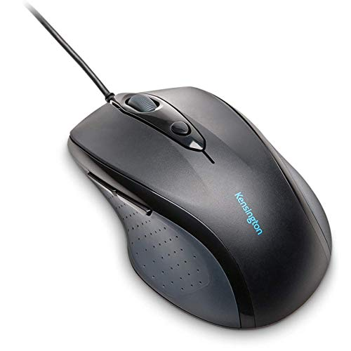 kensington mouse Kensington Pro Fit Wired Full-Size Mouse - Works with Chromebook