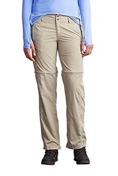ExOfficio Women s BugsAway Sol Cool Ampario Convertible Hiking Pants - Standard - Tawny Size 6