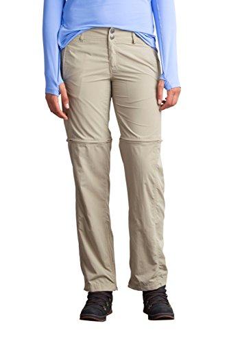 ExOfficio Women's BugsAway Sol Cool Ampario Convertible Hiking Pants - Standard - Tawny, Size 14