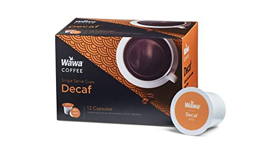 Wawa Coffee Single serve cups for Keurig K-Cup Brewers (Decaf) by WAWA