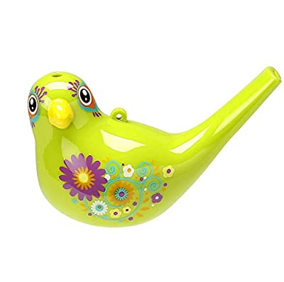 Comtrue 3103 Bird Whistle, Party Favors Kids, Birthday Gift,, Easter Gift, Bath Toy, Adorable, Durable, Non-Toxic, Kelly, Upgrade Version