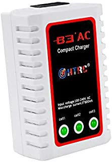 HTRC LiPo Charger 2S-3S Balance Battery Charger 7.4-11.1V RC B3AC Pro Compact Charger