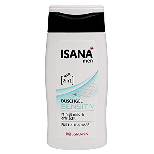 ISANA men 2in1 Duschgel sensitiv 300 ml