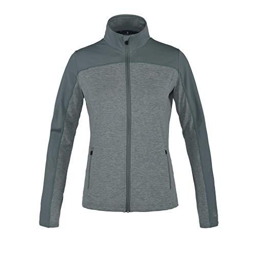 Kingsland Damenjacke, Fleecejacke KLagnes Jacke mit glattem Oberstoff Farbe Green, Größe XL