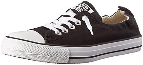 Converse Chuck Taylor All Star Shoreline Black Lace-Up Sneaker - 6 B - Medium