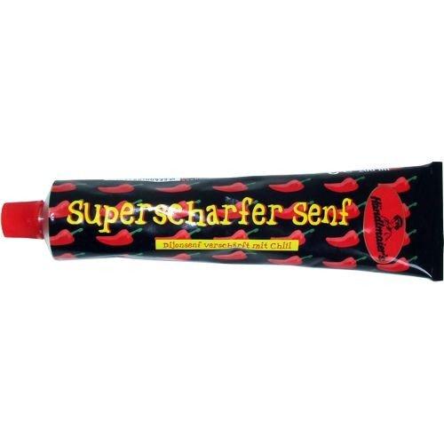 Händlmaier's Superscharfer Senf ''Dijonsenf verschärft mit Chili'' 200 ml