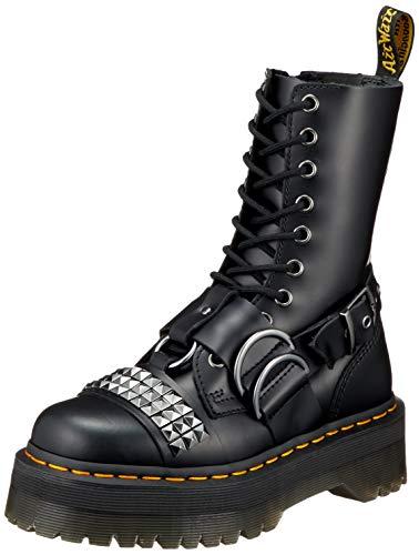 Dr. Martens Damen Stiefelleten Boots Jadon HI Stud Smooth Schwarz 38 EU